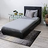 <span class='highlight'>Home</span> <span class='highlight'>Treats</span> Single <span class='highlight'>Bed</span> | Faux Leather <span class='highlight'>Bed</span> Frames | Black Prado Italia (Single)