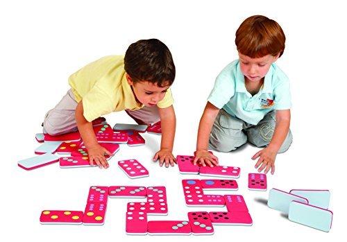 Edushape Jumbo Dominoes Game by Halilit