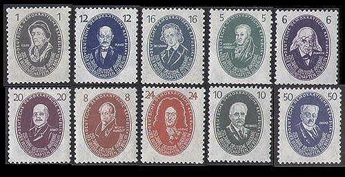 Goldhahn DDR Nr. 261-270 postfrisch  Akademie Briefmarken für Sammler