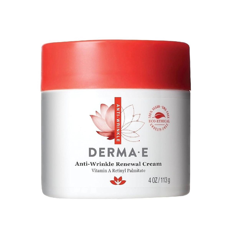 センター腹トレッドDerma E, Anti-Wrinkle Vitamin A Retinyl Palmitate Cream, 4 oz (113 g)