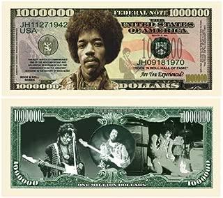 (100) Jimi Hendrix Million Dollar Bill