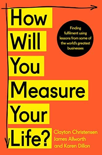 How Will You Measure Your Life product image