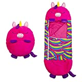 Fovely Fun Sleeping Bags Kids, Happy Play Pillow, Kids Fun Sleeping Bags with Pillow, 2 In 1 Sleeping Bag Kids Animal Sleeping Bag, Super Soft Comfortable Warm Sleeping Bag Pillow for Boys Girls
