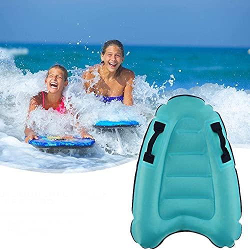 Tabla de surf inflable para la playa, para niños, deslizamiento y deslizamiento de agua, tabla de surf, trineo, jinete, juego de piscina, juguete flotante, alfombra de ayuda para aprender a nadar