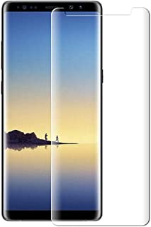Samsung Galaxy Note 9 Case 3D Clear Tempered Glass Screen Protector 3D Curve- -Clear