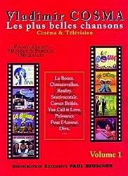 Partition : Vladimir Cosma, Les plus belles chansons Cinema et Television, volume 1