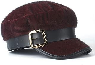 SHENTIANWEI Women Warm Beret Hat Elegant Lady Wild Fascinator Hat Octagonal Hat Winter Baseball Newsboy Cap Cloche Casual Hat Size 56-58CM