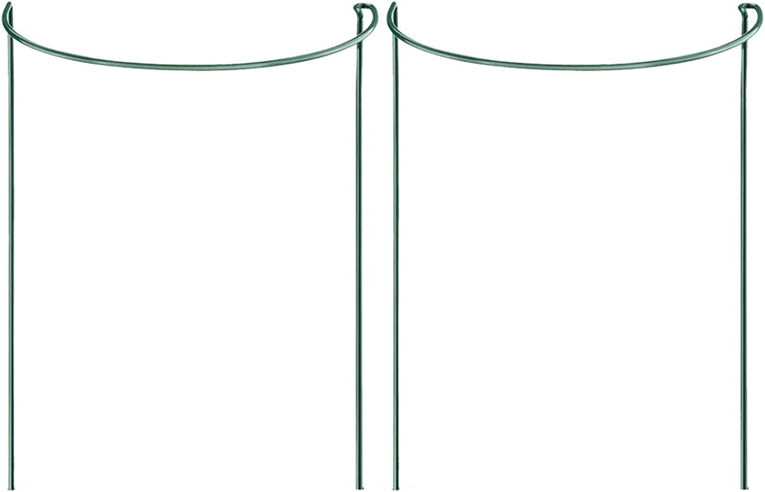 Orgrimmar Price reduction 2-Pack Half Round Metal Support Garden Su Free Shipping Cheap Bargain Gift Plant