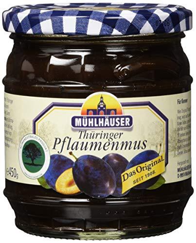 Mühlhäuser Thüringer Pflaumenmus Pastös, 450g