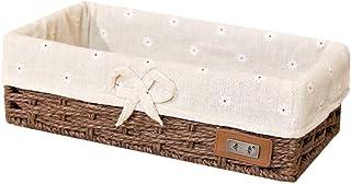 HEELPPO Panier De Rangement Tissu Bac Rangement Tissu pour Les Placards Petite BoîTe pour Le Stockage Panier De Rangement ...