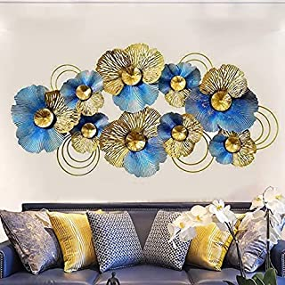 ZasaDecor Metal Wall Art Iron Wall Hanging Home Decoration Perfect for Living Room/Hotel/Restaurant/Bedroom/Drawing Room (...