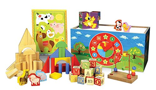 FIRST LEARNING- Encastrement 8 Animaux, 41630, Multicolore