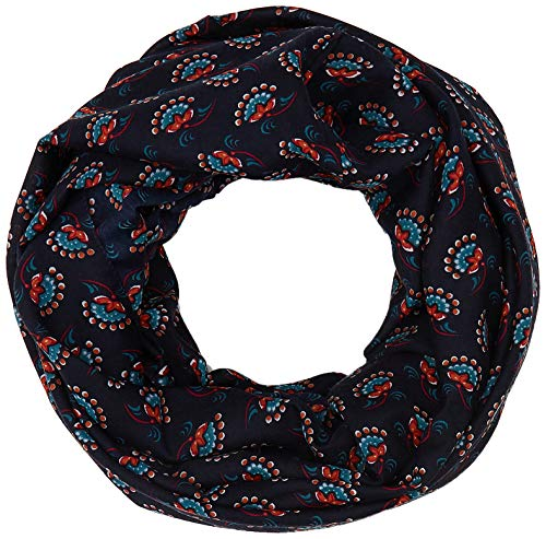 ESPRIT Accessoires Damen 999Ea1Q802 Schal, Blau (Navy 400), One Size (Herstellergröße: 1SIZE)