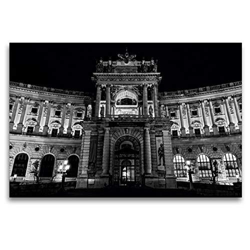 CALVENDO Premium Textil-Leinwand 120 x 80 cm Quer-Format Hofburg, Neue Burg, Leinwanddruck von Alexander Bartek