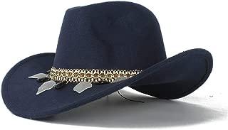 Hat Neutral Men Women Authentic Western Cowboy Hat Winter Outdoor Hat Wool Sombrero Cap Fashion Hat