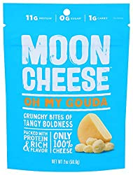 Moon Cheese - 100% Natural Cheese Snack - Gouda - 2 oz