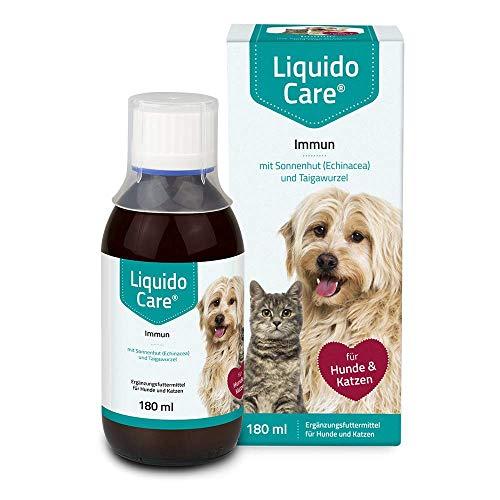 LiquidoCare Immun, unterstützend zur Immunstärkung bei Katzen und Hunden, Appetitanreger mit guter akzeptanz