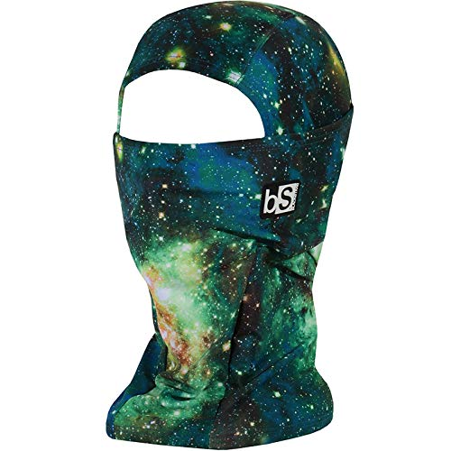 BLACKSTRAP Hood Balaclava Face Mask, Dual Layer Cold Weather Headwear for Men and Women, Space Green