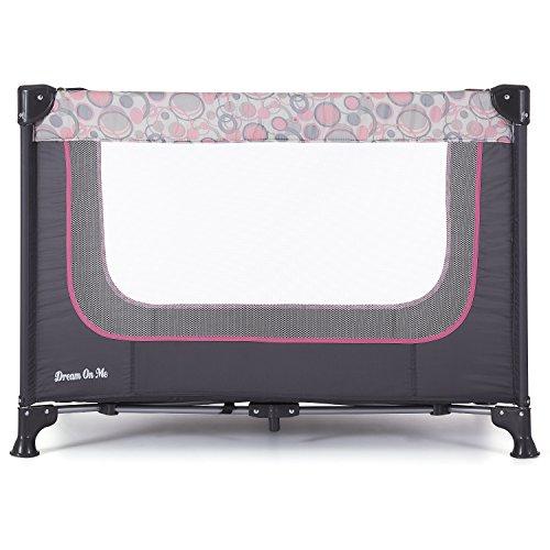 Dream On Me Zodiak Portable Playard Grey/Pink