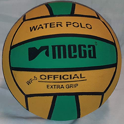 Mega Water Polo Ball grün-gelb Größe 5