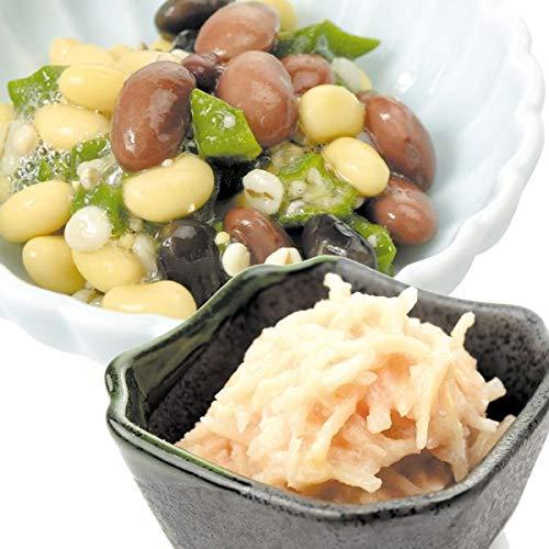 国華園 食品 惣菜2種セットA 大根明太子サラダ&九穀ヘルシーサラダ 2組