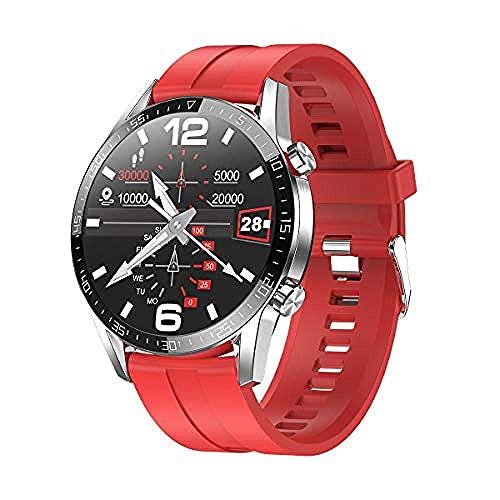 SVUZU Reloj Conectado, Smartwatch de Salud;y Fitness con frecuencia cardíaca, Relojes Inteligentes a Prueba de Agua IP68, rastreador de sueño y natación para Hombres