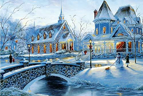 1000 piece puzzles winter - 5