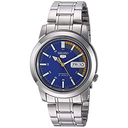 Fashion Shopping Seiko Men's SNKK27 Seiko 5 Stainless Steel Automatic Watch