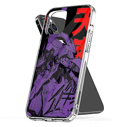 Phone Case Evangelion Robot Kanji Black Compatible with iPhone 6 6s 7 8 X XS XR 11 Pro Max SE 2020 Samsung Galaxy Tested Charm Accessories