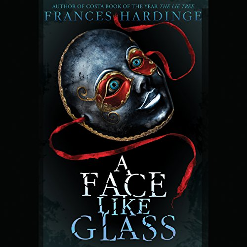 A Face Like Glass audiobook cover art