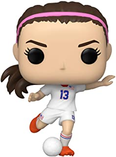 Funko Pop! Deportes: The U.S Women's Soccer Team - Alex Morgan, Multicolor