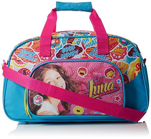 Soy Luna Bolsa Deporte, Color Azul y Rosa
