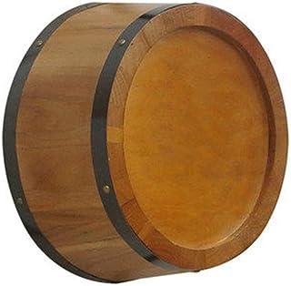 Fût de Chêne Tonneaux décoratifs en chêne, demi-mur coupé, tonneaux de vin suspendus, tonneaux de bière, cave à vin d'un é...