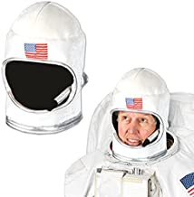 Beistle 60041 Plush Astronaut Helmet, White/Red/Blue