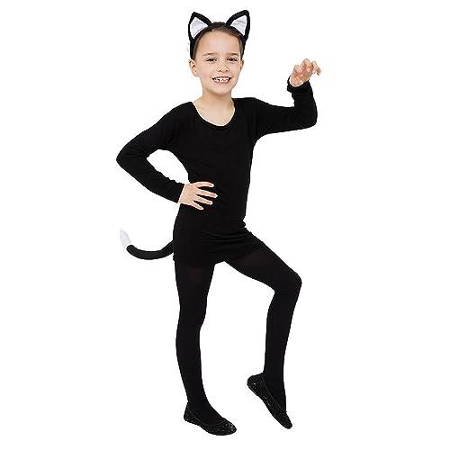 Black Cat Costume For Girls Amazoncouk