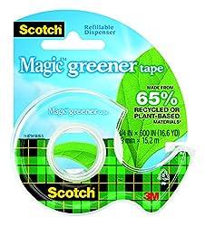 Scotch, Greener Tape 3 4x600, 1 Each