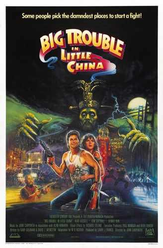 Big Trouble In Little China Poster 02 Photo A4 10x8 Poster Print