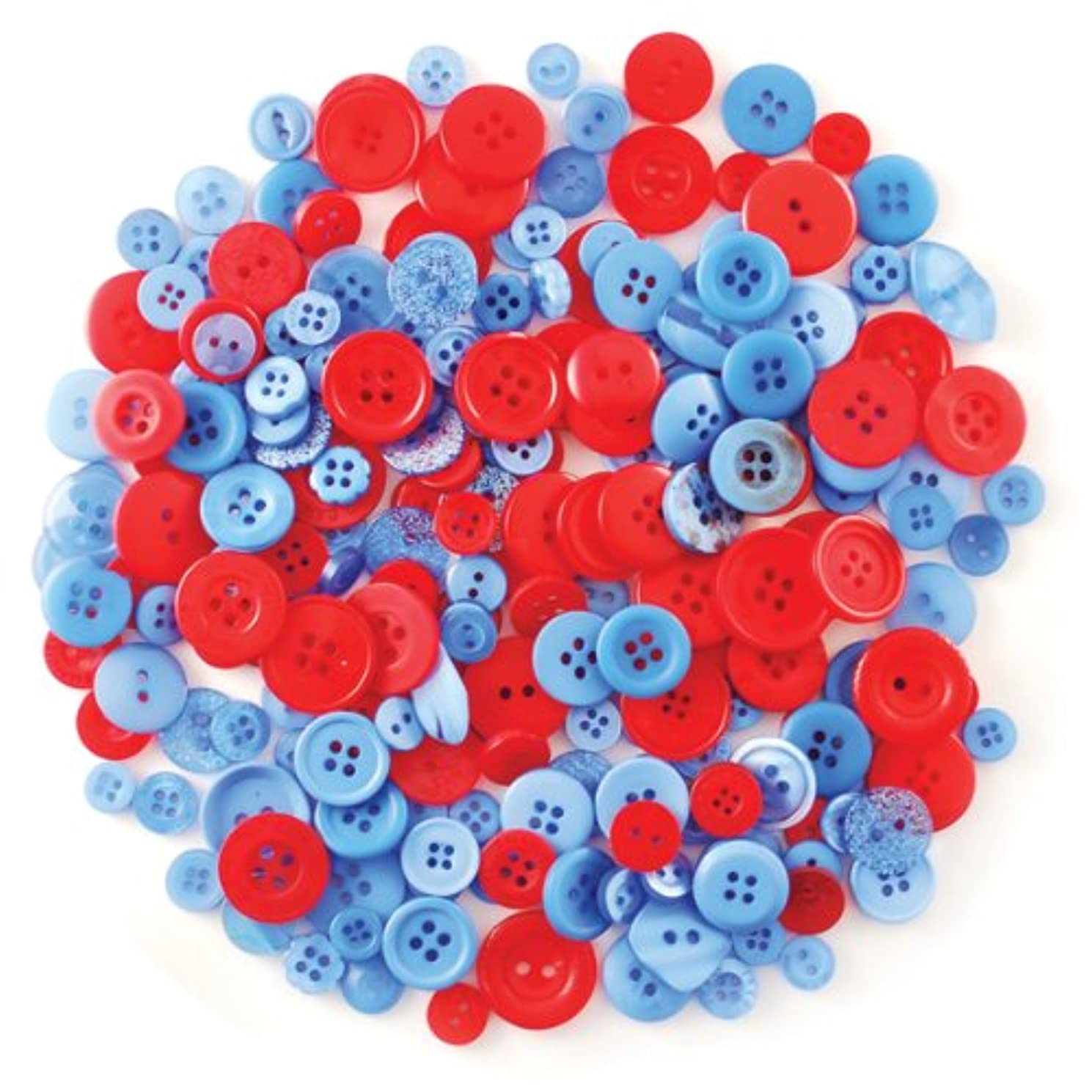 Multicraft Imports Fashion Buttons, 85gm, Bold