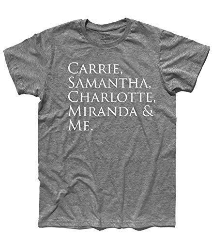 Men's t-Shirt Carrie, Samantha, Charlotte, Miranda & Me Inspired by Sex And The City