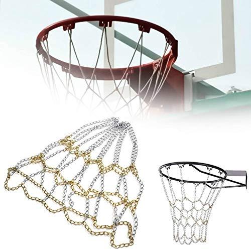 BasketballkorbChampion Basketball Net Deluxe Nicht Peitsche Outdoor Sport Ersatz Verzinkte Eisen Anti Rost Basketball Shoots Hoop Rim Net ChainÜbungFreistehend