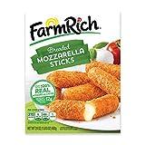 Farm Rich Breaded Mozzarella Cheese Sticks, Frozen, 24 Ounces