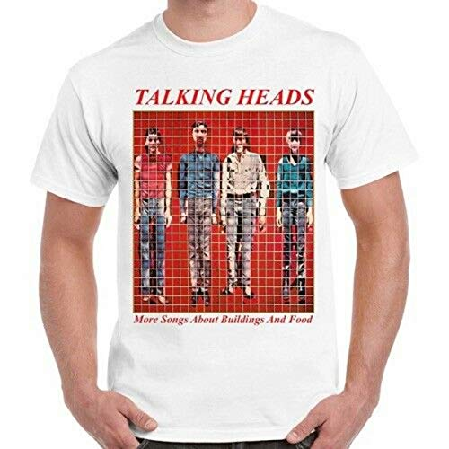 Talking Heads More Songs About Buildings and Food Punk Rock Retro T Shirt 1716