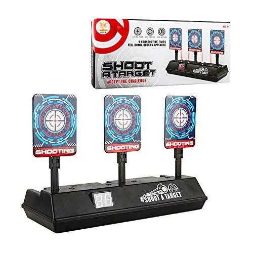 COSORO Bersaglio per Nerf, Elettrico Tiro Bersaglio Digitale Punteggio Reset Automatico Obiettivo per i Bambini Nerf N-Strike Elite/Mega/Rival Series Gun Toy Gun Game