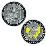 USMC MCRD San Diego Marine Corps Challenge Coin - Marine Graduation Gift