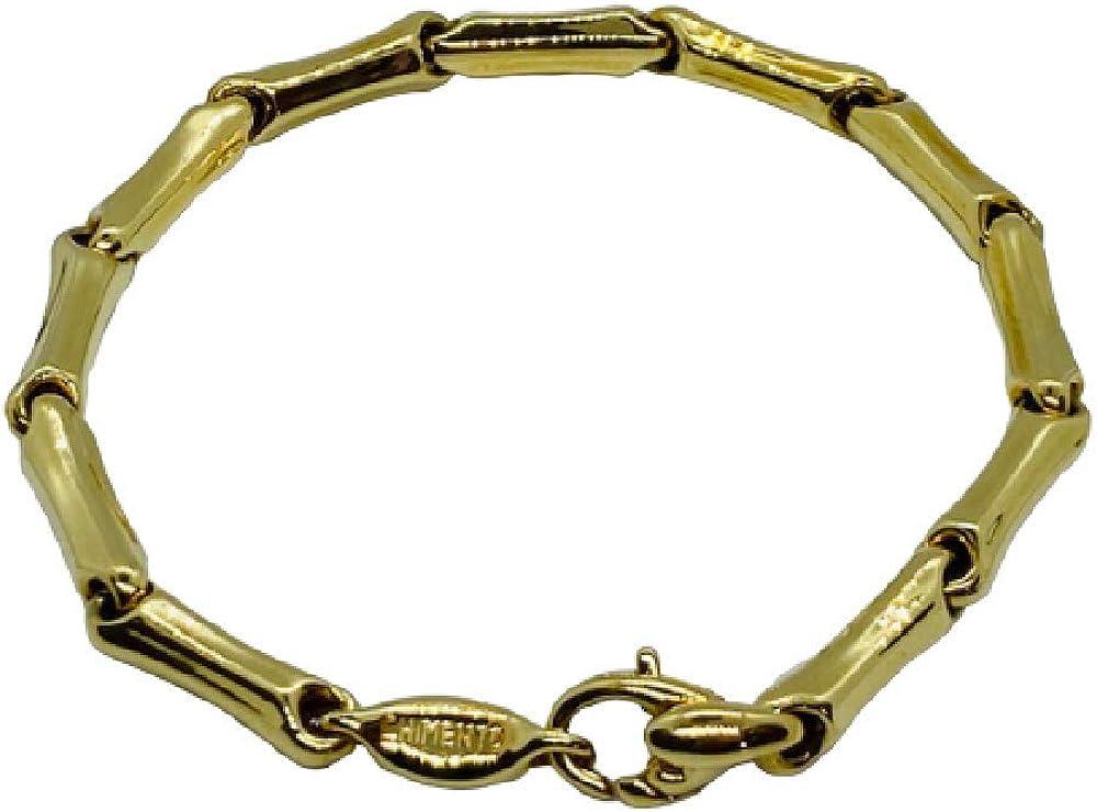 Chimento,bracciale unisex,in oro giallo 18 kt(9,3 gr) della collezione