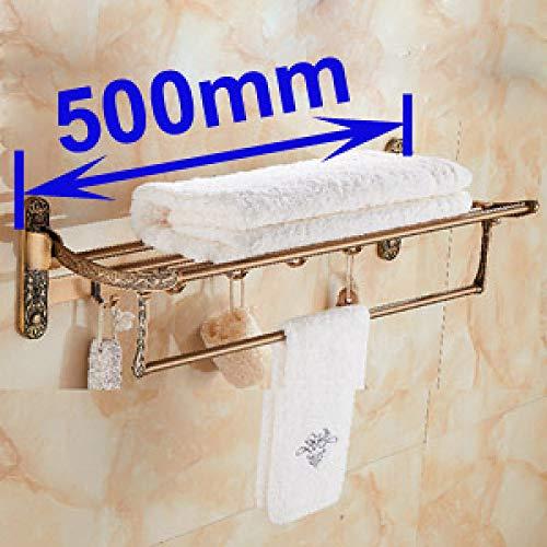JKDGDKDL Toallero Soporte de toalla de baño de baño de latón antiguo...