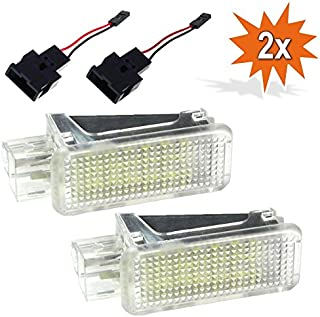 2x Do!LED ADR18 LED SMD Innenbeleuchtung Innenraum Kofferraum Fußraum Einstiegs/Türbeleuchtung Xenon Optik