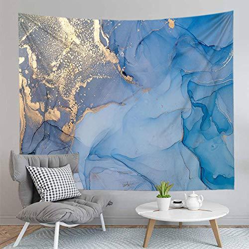 WAXB Tapiz Patrón De Colores De Mármol Impreso Colgante De Pared Casa Nórdica Colgante Pintura Decoração Manta Toalla Decoración De Dormitorio 70.8 X 90.5 Pulgadas (180 X 230 Cm)