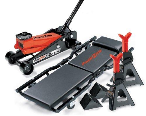 Milestone Tools Powerzone 380046 3 Ton Garage Combo Set - 6 Piece