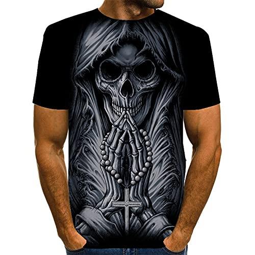 SSBZYES Camisetas para Hombre Camisetas De Cuello Redondo para Hombre Camisetas De Gran Tamaño para Hombre Camisetas Negras para Hombre Camisetas Holgadas Y Cómodas De Verano para Hombre